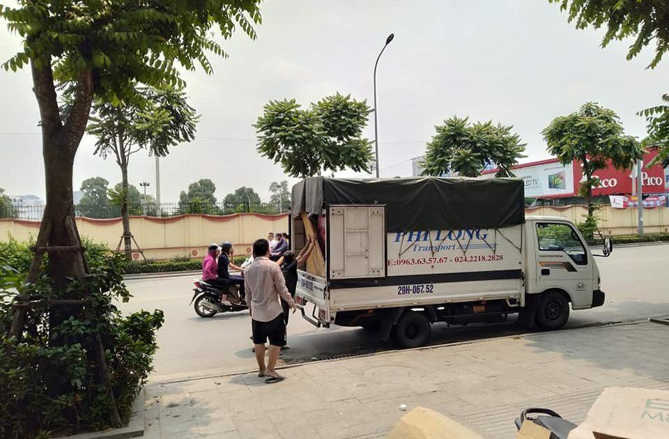 Thanh Hương chuyển nhà uy tín tại phố Hoài Thanh