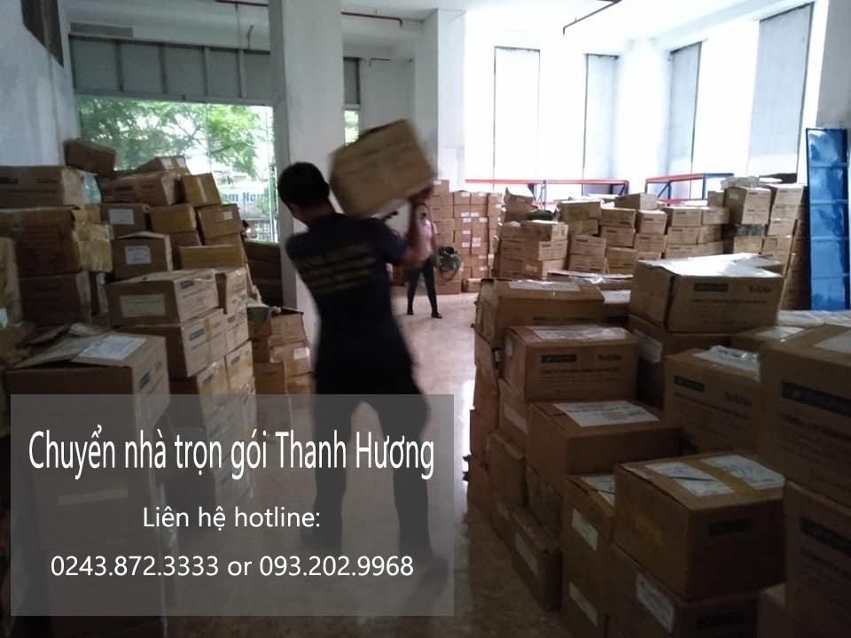 Thanh Hương chuyển nhà chất lượng tại phố Hà Phố Tập