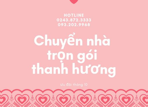 Thanh Hương chuyển nhà uy tín tại phố Dương Xá