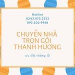 Dịch vụ chuyển nhà Thanh Hương tại phường Tân Mai