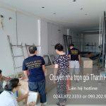 Công ty chuyển nhà uy tín Thanh Hương tại phố Bắc Hồng