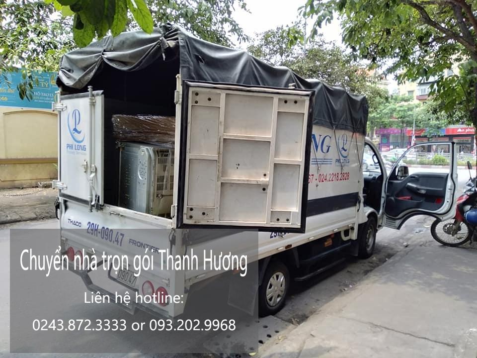 Thanh Hương chuyển nhà giá rẻ phố Chu Văn An