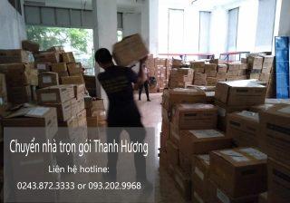 Công ty chuyển văn phòng Thanh Hương phố Đặng Tất