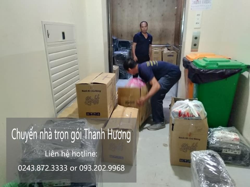 Chuyển nhà giảm giá 20% Thanh Hương phố Lê Duẩn