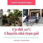 Dịch vụ chuyển nhà Thanh Hương tại xã Xuân Canh