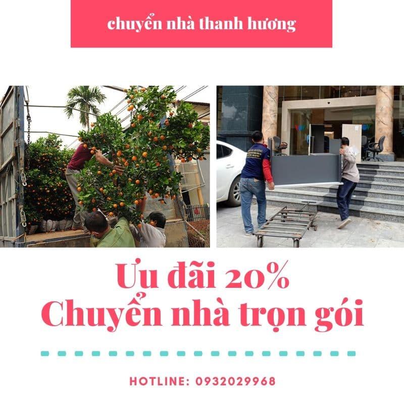 Dịch vụ chuyển nhà Thanh Hương tại xã Vân Hà