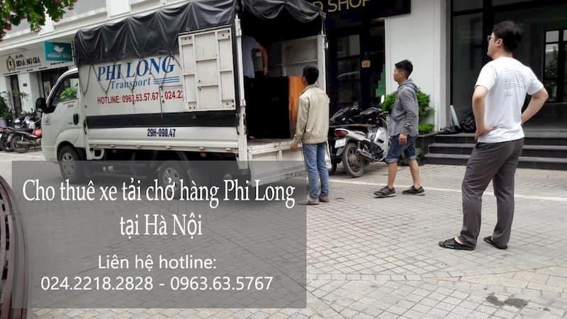 Thanh Hương chuyển hàng hóa phố Thịnh Yên