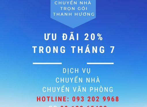 Dịch vụ chuyển nhà Thanh Hương tại xã Chương Dương