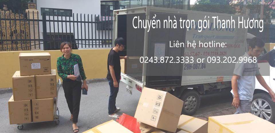 Thanh Hương vận tải chất lượng phố Trần Đăng Ninh
