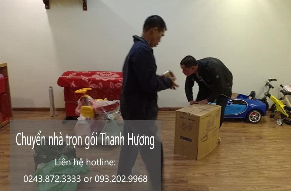 Dịch vụ chuyển nhà Thanh Hương tại phố Võ Thị Sáu