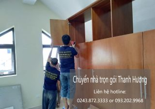 Dịch vụ chuyển nhà Thanh Hương tại đường thái hà