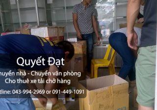 Dịch vụ chuyển nhà Thanh Hương tại đường bùi huy bích