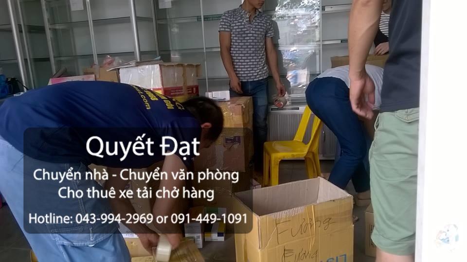 Dịch vụ chuyển nhà Thanh Hương tại đường dương văn bé