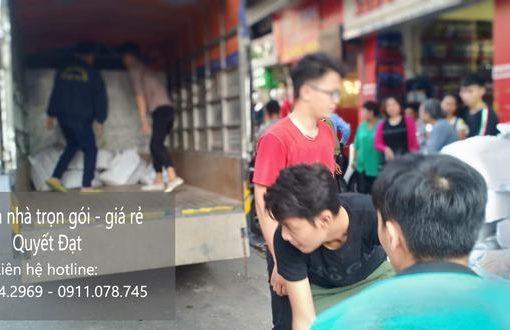 Dịch vụ chuyển nhà Thanh Hương tại đường Lệ Mật