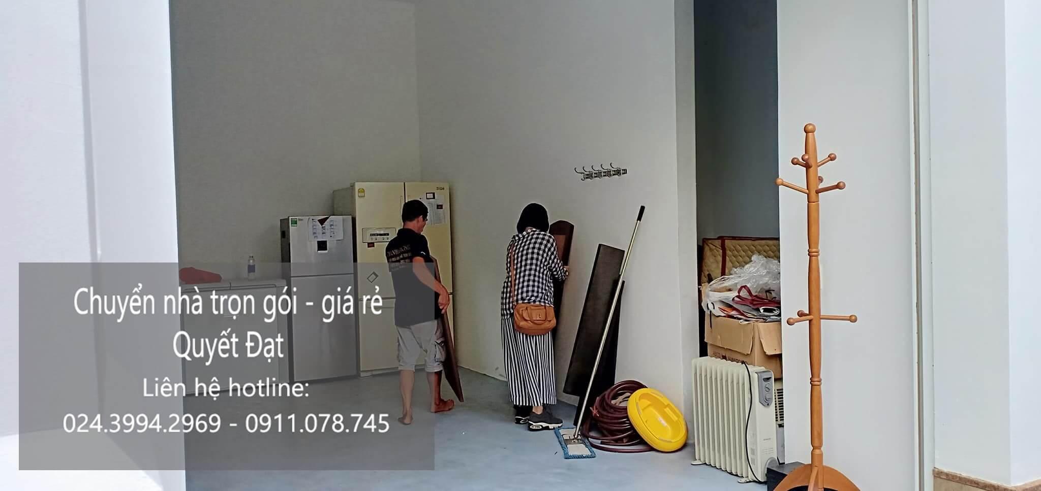 Dịch vụ chuyển nhà trọn gói tại đường Hội Xá