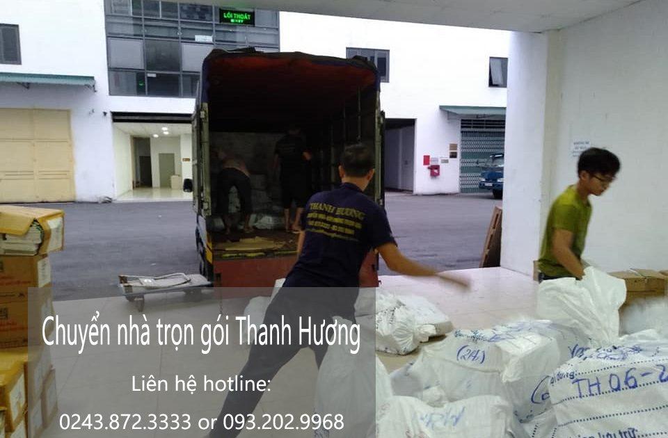 Dịch vụ chuyển nhà Thanh hương tại phố Hoa Lâm