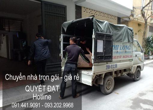 Dịch vụ chuyển nhà giá rẻ tại phố Sài Đồng