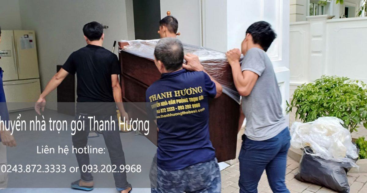 Dịch vụ chuyển nhà Thanh hương tại đường Tình Quang