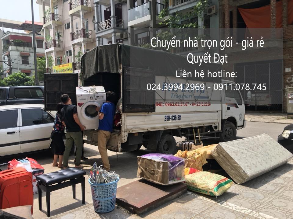 thuê xe 5 tạ chuyển nhà tại đường ngô viết thụ