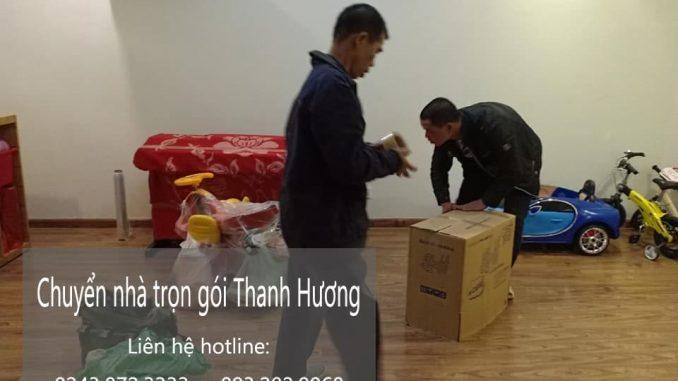 Dịch vụ chuyển nhà tại đường Tân Thụy