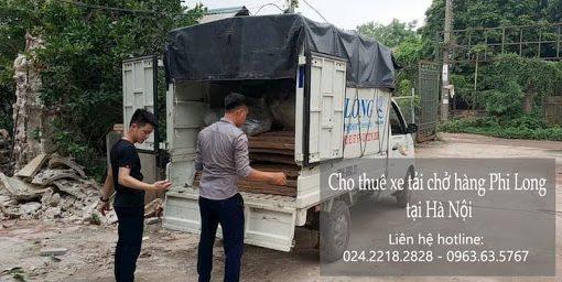 Xe tải chở hàng tại đường Trương Định đi Vĩnh Phúc