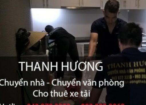 Thanh Hương dịch vụ chuyển nhà giá rẻ tại Hà Nội đi Thái Nguyên.