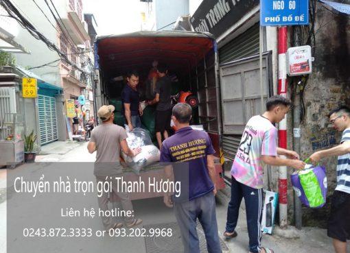 Chuyển nhà giá rẻ phố Nguyễn Thiếp đi Thanh Hóa