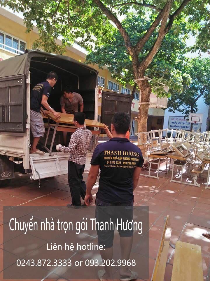 Dịch vụ chuyển nhà phố Tràng Thi đi Hòa Bình